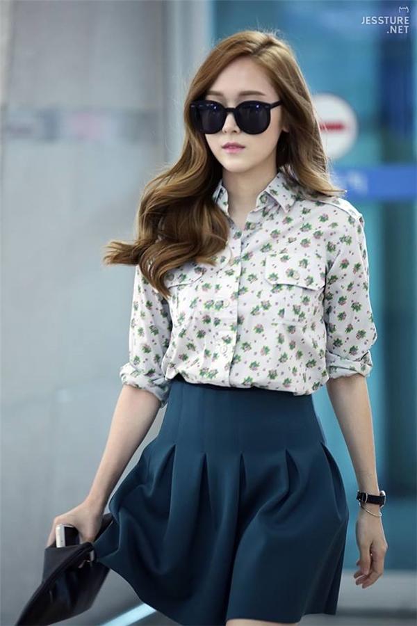 Jessicaluôn được ca ngợi cho ngoại hình của mình thời còn trong SM.
