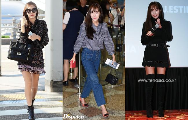 Kể từ sau khi rời khỏi SM, cô nàng đã vướng vô số lỗi ngớ ngẩn trong phong cách và nhan sắc cũng phần nào xuống phong độ.