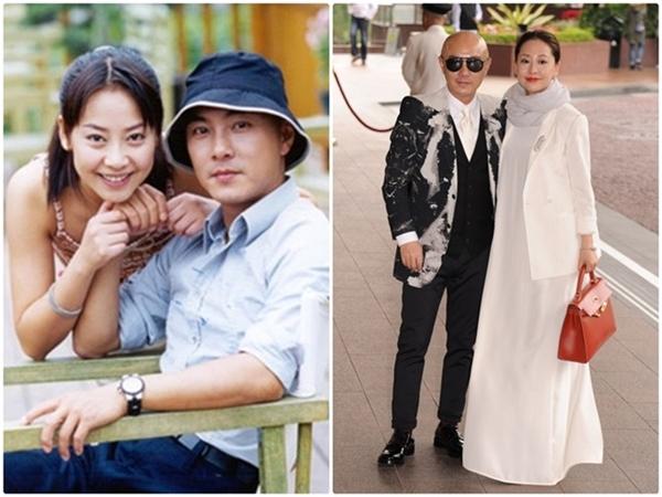 Trương Vệ Kiện và người vợ đã đồng hành cũng mình trong suốt 17 năm thăng trầm.