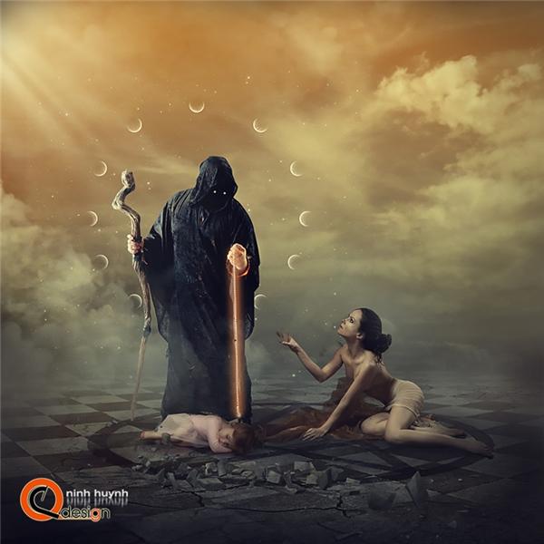 Mẹ là người sẵn sàng đánh đổi mọi thứ, sẵn sàng lao vào vòng tay tử thần để đổi lấy sự bình yên cho con.