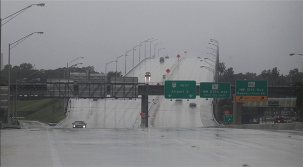 Cơn bãoMatthew là cơn bão lịch sử nhất nước Mĩ trong hơn thập niên qua. (Ảnh: Internet)