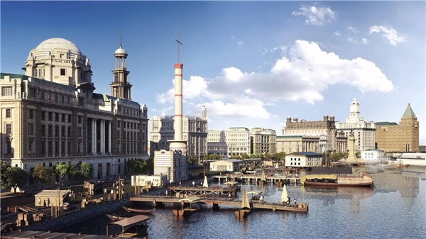 """Thượng Hải - Thành phố trên biển: Tọa lạc tại cửa phía đông nam sông Dương Tử của Nam Kinh, Thượng Hải mang ý nghĩa """"shang"""" là ở trên còn """"hai"""" là biển."""