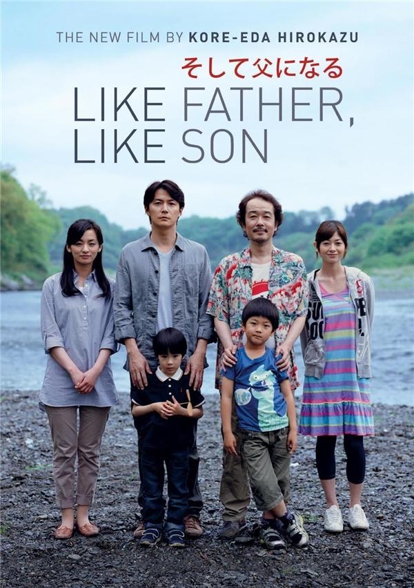 Like Father, Like Sonlà bộ phim đề cao tình cảm cha con. (Ảnh: Internet)