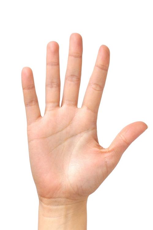Người có lòng bàn tay hình chữ nhật thường hấp tấp.