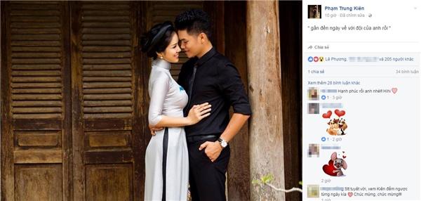 Bạn trai Lê Phương dường như đang mong chờ từng ngày đến hôn lễ. - Tin sao Viet - Tin tuc sao Viet - Scandal sao Viet - Tin tuc cua Sao - Tin cua Sao