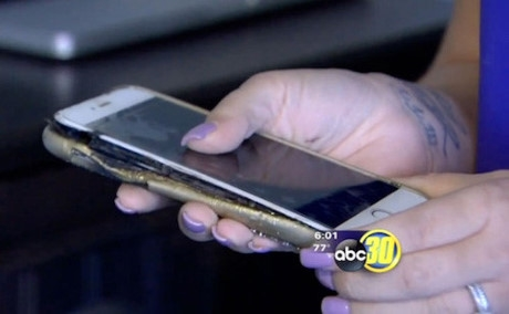 iPhone 6 Plus củaYvette Estrada. (Ảnh: internet)