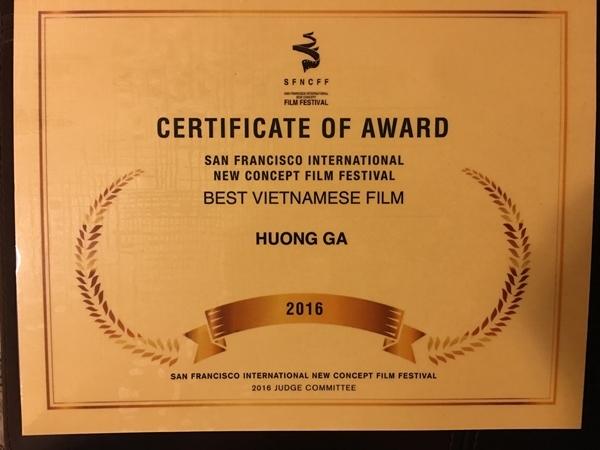 """""""Hương Ga"""" đoạt giải Phim Việt Nam hay nhất tại Mỹ - Tin sao Viet - Tin tuc sao Viet - Scandal sao Viet - Tin tuc cua Sao - Tin cua Sao"""