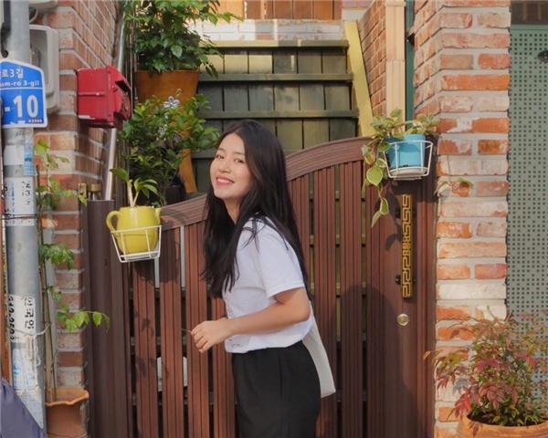 Mẫn Tiên đang du học trên đất nước hoa anh đào Nhật Bản.