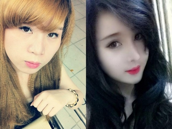 Em gái của Vân Tokyo cũng đã phẫu thuật thẩm mĩ.