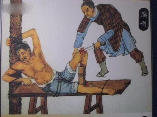 Phạm nhân sẽ không thể đứng hay đi được nữa nếu phải chịu hình phạt này.