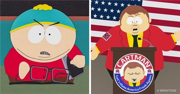 Cậu nhóc Eric Cartman vẫn không thay đổi là bao so với thời thơ ấu.(Ảnh: Bright Side)