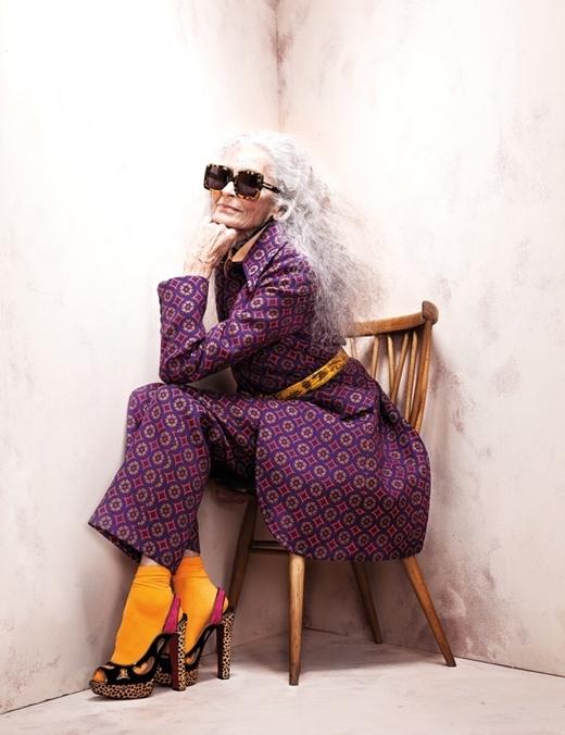 Những cụ bà đình đám bậc nhất của làng thời trang quốc tế
