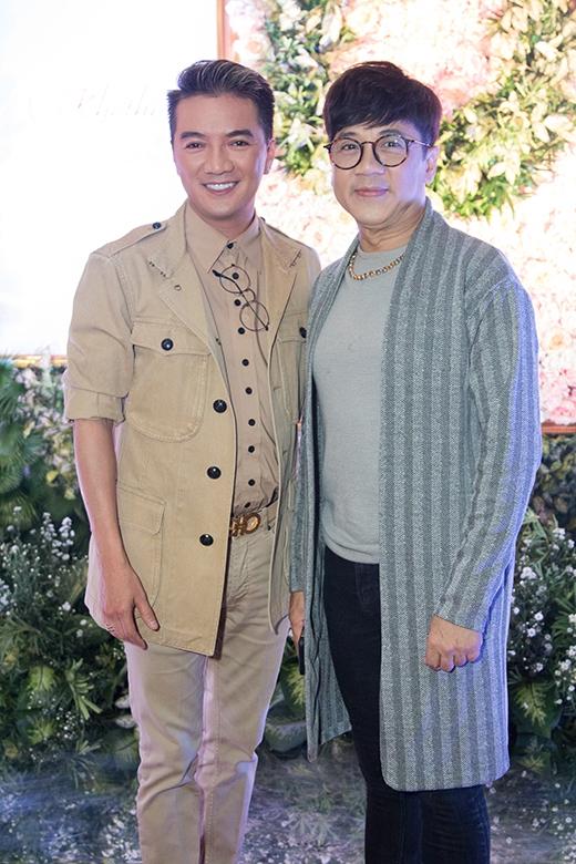 Mr. Đàm và NSƯTThành Lộc nắm giữ cương vị giám khảo tại cuộc thi.