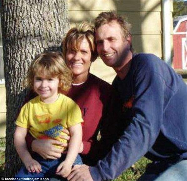 Bức ảnh chụp gia đình Jamison.(Ảnh: Internet)