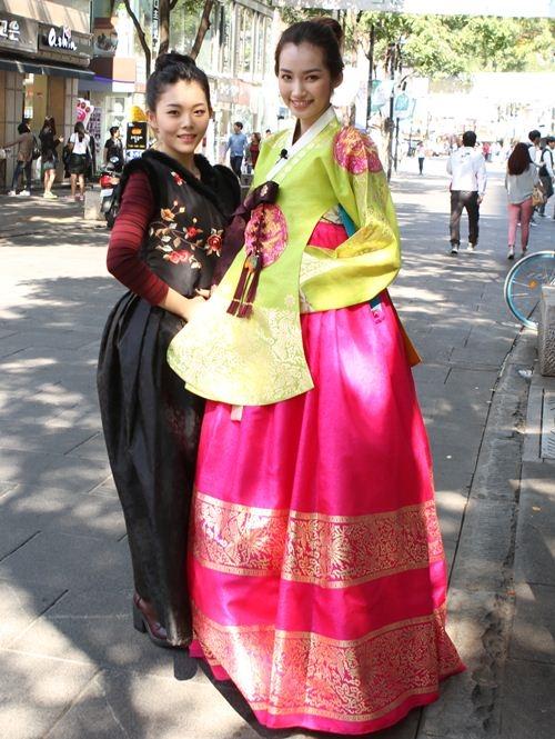 Trúc Diễm tươi tắn và xinh đẹp trong trang phục Hanbok. - Tin sao Viet - Tin tuc sao Viet - Scandal sao Viet - Tin tuc cua Sao - Tin cua Sao
