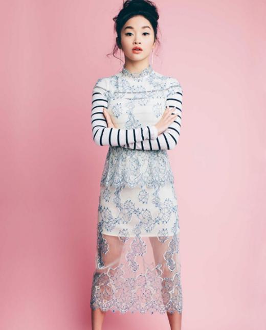 Trong phim, nữ diễn viên gốc Việtsẽ đóng vai cô gái mồ côi người Nhật.