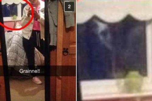 Không sử dụng chức năng đổi mặt nhưng những gì cô gái này ghi lại được bằng Snapchat còn kinh khủng hơn nhiều.(Ảnh: Internet)