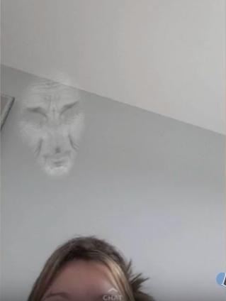 Khi filter nhận diện sai vị trígương mặt...(Ảnh: Internet)