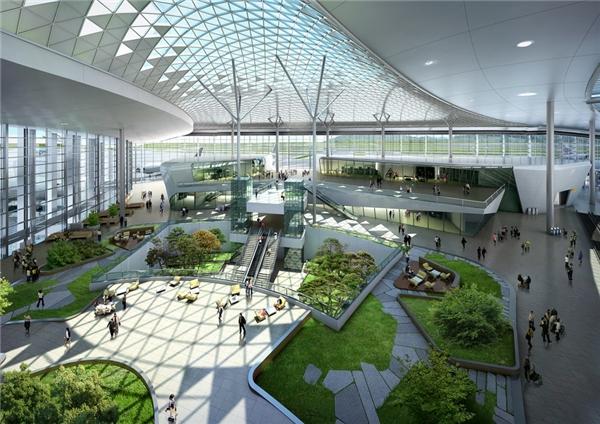 Sân bay Incheon đượcbình chọn là một trong những thiết kế sân bay đẹp nhất đồng thời là sân bay cung cấp dịch vụ tốt nhất nhìthế giới.