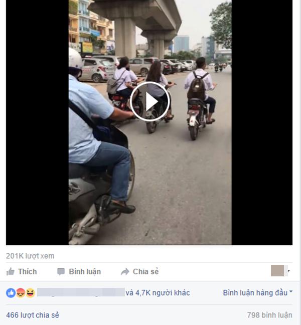 Sau thời gian ngắn chia sẻ, đoạn clip thu hút rất nhiều sự chú ý từ dân mạng. (Ảnh: Chụp màn hình)