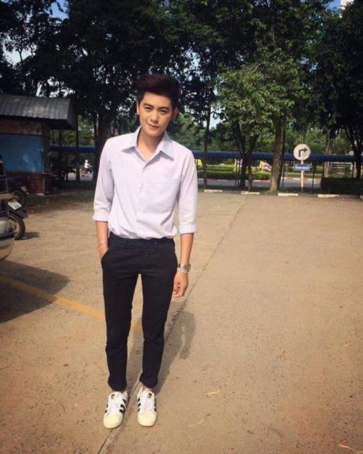Đây chính là bạn du học sinh Thái điển trai khiến dân tình náo loạn