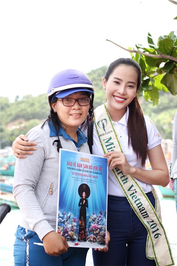 Nam Em có cơ hội vào top 8 Hoa hậu Trái đất 2016?