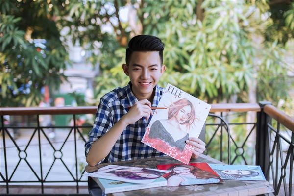 Phan Đăng Hoàngkhiến mọi ngườingưỡng mộ bởi khả năng truyền thần trong từng nét vẽ của mình.