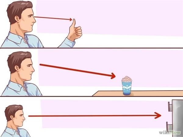 Bài tập thay đổi tầm nhìn mắt rất đơn giản mà hiệu quả.