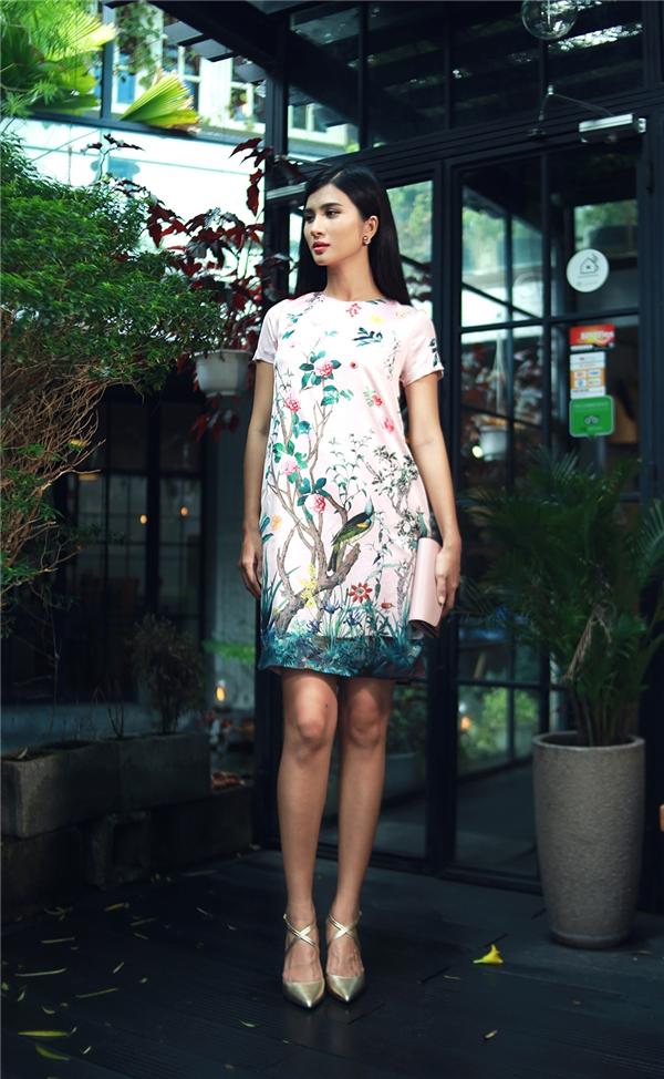 Lãng mạn váy áo chiều thu cùng diễn viên Kim Tuyến
