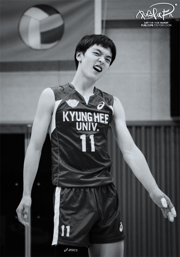 Biểu cảm đáng yêu củaJo Jae Sung.