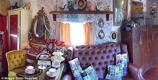 Trong căn nhà của Maggie Butler đầy đủ tiện nghi không thiếu thứ gì.