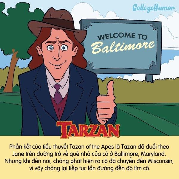 Chắc có lẽ chàng Tarzan không bao giờ có duyên với thế giới loài người nên phải hết lần này đến lần khác đi tìm người yêu.