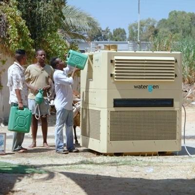 Chiếc máy là phao cứu sinh để con người ở đây tiếp cận được với nguồn nước sạch.
