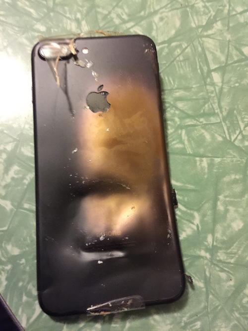 Cuối tháng 9 vừa qua, một chiếciPhone 7 đãphát nổ khi còn trong hộp.