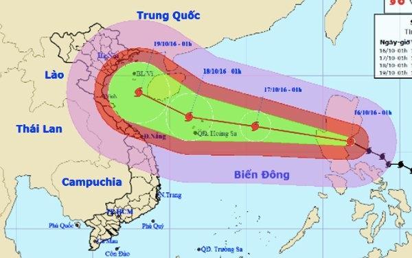 Bão số 7 được dự đoán là cơn bão mạnh và diễn biến phức tạp.