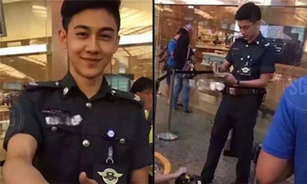 Hình ảnh củaLimin Wei được lan truyền rộng rãi. (Ảnh: Internet)