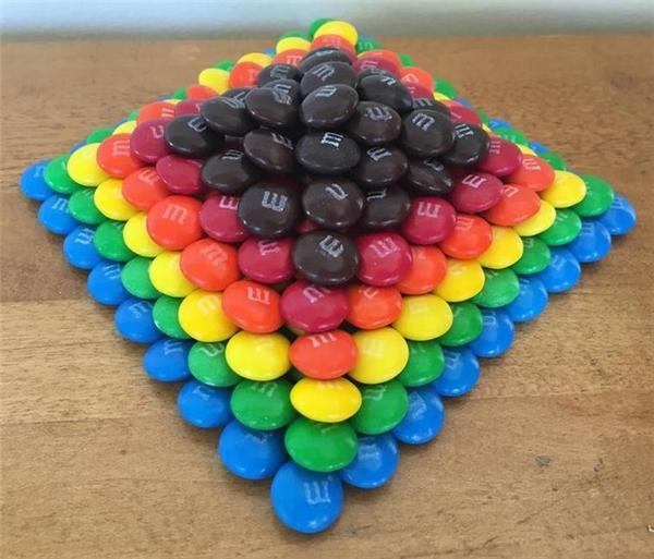Khi những viên kẹo trở thành tác phẩm nghệ thuật lộng lẫy đến say lòng.