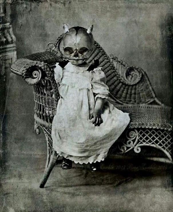 Đây có lẽ là một trong những tấm ảnh chân dung đáng sợ nhất mọi thời đại.
