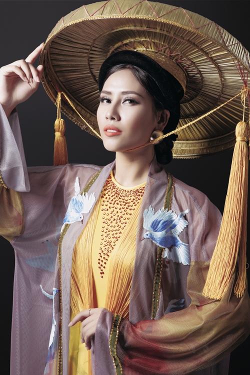 Trang phục truyền thống của Nguyễn Thị Loan tại Miss Grand 2016