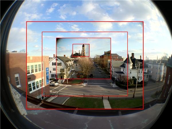 Chất lượngảnh chụp bằng ống kính phụ kiện gắn smartphone tương đối rõ nét ở phần trung tâm nhưng rìa bức ảnh sẽ bị mờ. (Ảnh: internet)