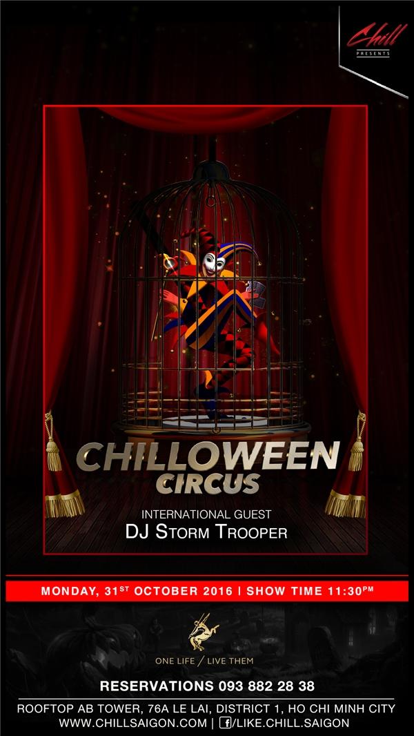 Halloween năm nay có gì hot tại Chill Skybar?