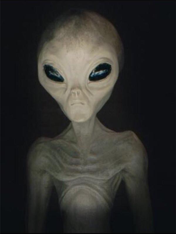 Sinh vật được phát hiện trông rất giống với những mô tả từ trước đến nay về người ngoài hành tinh.