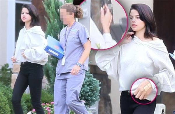 Lộ ảnh Selena Gomez phì phèo hút thuốc tại trung tâm cai nghiện