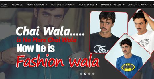 Hiện tại, ảnh quảng cáo thời trang nam của Arshad đã phủ sóng khắp trang web của công ty bán hàng trực tuyến.