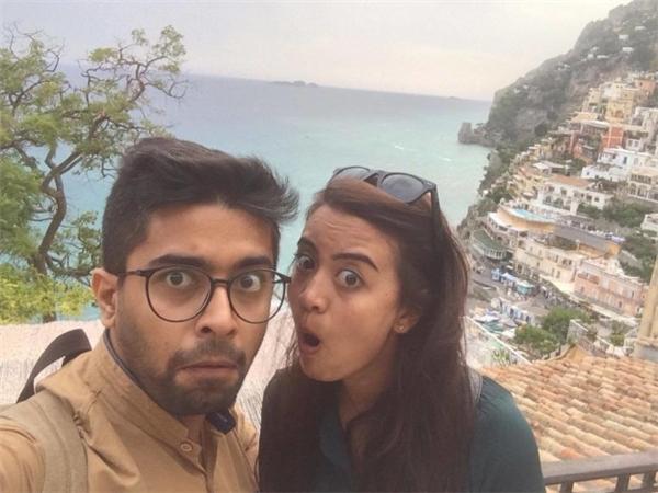 Cả hai vừa mới trải qua tuần trăng mật thú vị tại Italia.