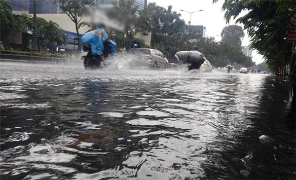 Chiều nay 26/10 TP. HCM dự đoán sẽ có mưa lớn và ngập úng