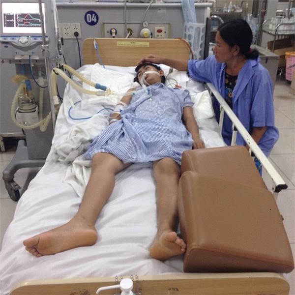 Trang được đưa đến bệnh viện trong tình trạng nguy kịch. (Ảnh: Internet)