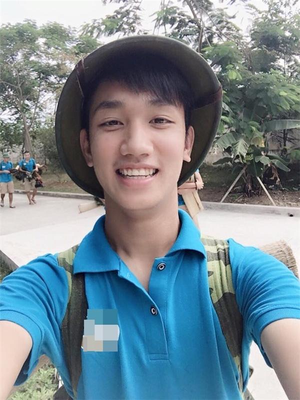 Nguyễn Trọng Đại là một gương mặt hot boy mới nổi trong làng thể thao của Việt Nam.