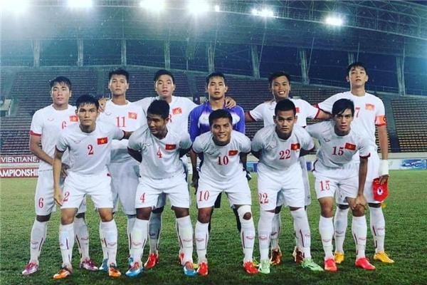 Trọng Đại (số 7) đảm nhận vị trí đội trưởng U19 Việt Nam hiện nay.(Ảnh: Internet)