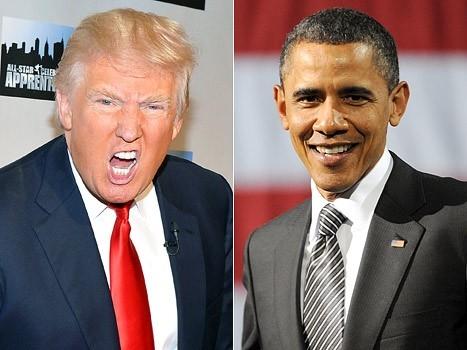 Người ta đề cập đến ông Trump trên mạng xã hội còn nhiều hơn ông Obama.(Ảnh: internet)